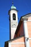Alte Zusammenfassung Mornago in Italien die alte Wand Lizenzfreie Stockfotografie