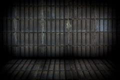 Alte zylinderförmige Zementwand- und -bodenbeschaffenheit Stockfotos