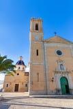 Altea παλαιά χαρακτηριστική Μεσόγειος του χωριού εκκλησιών Στοκ Εικόνα