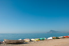 Altea bay Royalty Free Stock Photo