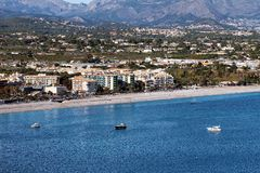 Altea Bay Stock Image
