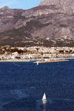 Altea Bay Royalty Free Stock Image