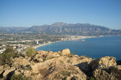 Altea bay Royalty Free Stock Images