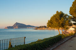 Altea bay Stock Photos