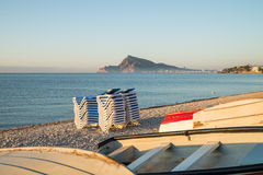 Altea Bay Royalty Free Stock Image