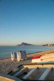 Altea Bay Royalty Free Stock Photos
