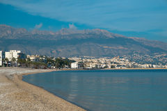 Altea bay Stock Photo