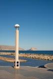 Altea beach promenade Stock Image