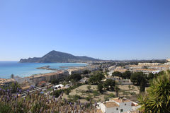 Altea and Benidorm Spain Stock Photos
