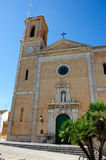 Altea cathedral Royalty Free Stock Photo