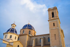 Altea church Royalty Free Stock Photo