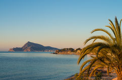 Altea coast Stock Image