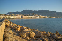 Altea. Hilltop whitewashed village of Altea, one of Costa Blanca landmarks Stock Photography