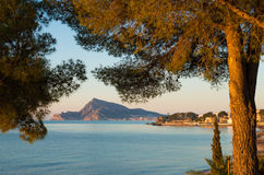Altea landscape Royalty Free Stock Images