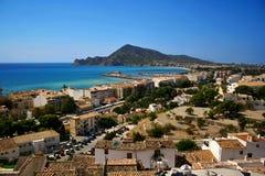 Altea mediterranean sea Royalty Free Stock Photo
