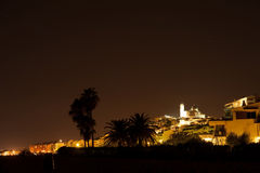 Altea at night Royalty Free Stock Image