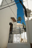 Altea old town Stock Photo