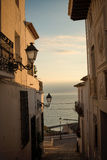 Altea old town Royalty Free Stock Photos
