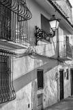 Altea old town street. Idyllic Altea old town street, Costa Blanca, Spain Stock Images