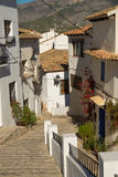 Altea old town street Royalty Free Stock Photography