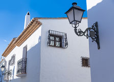 Altea old village in white typical Mediterranean Royalty Free Stock Photos