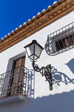 Altea old village in white typical Mediterranean Royalty Free Stock Photo