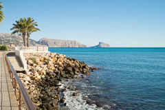 Altea promenade Stock Photography