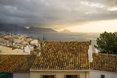Altea rooftops Royalty Free Stock Image