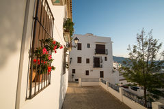 Altea street Stock Photography