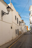 Altea street Stock Photo