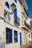 Altea street Royalty Free Stock Photography