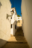 Altea street. Street in old town Altea, Costa Blanca, Spain Royalty Free Stock Image