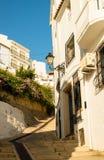 Altea street. Street in old town Altea, Costa Blanca, Spain Stock Images