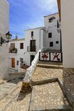 Altea streets Royalty Free Stock Photography