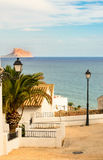 Altea View of calpe Rock Royalty Free Stock Photo