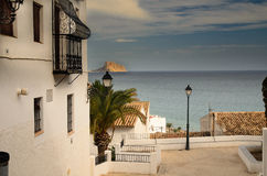 Altea View of calpe Rock Royalty Free Stock Photography