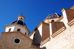 Altea. The village Altea on the Costa Blanca, Alicante province,Spain Royalty Free Stock Image