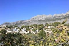Altea village Spain Royalty Free Stock Images