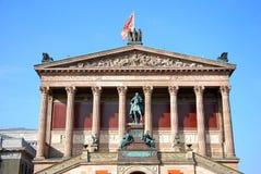 alteberlin nationalgalerie Royaltyfri Bild