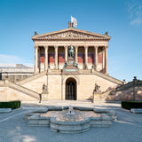 alteberlin nationalgalerie arkivfoton