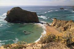 Alteirinhos secret beach Stock Photos