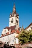 Altemberger hus i Sibiu Royaltyfria Foton