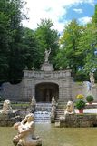 The Altemps Fountain at Schloss Hellbrunn Royalty Free Stock Photo
