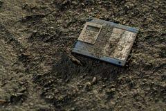 Alten 3 5-Zoll-Diskette Stockbild