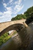 Altena de pedra velho Alemanha da ponte foto de stock