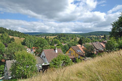 Altenau,Harz Mountains,Germany Royalty Free Stock Photography
