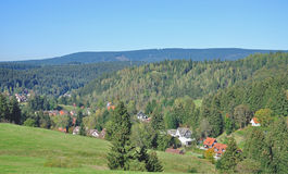 Altenau,Harz Mountains,Germany Stock Image