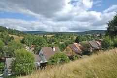 Altenau, montanhas de Harz, Alemanha fotografia de stock royalty free