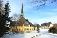 Altenberg in winter Stock Photos