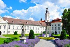 Altenburg-Abtei in Niederösterreich lizenzfreie stockfotos